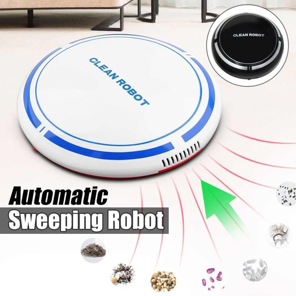 USB Перезаряжаемый умный чистый робот автоматический пылесос с низким уровнем шума пылесборник подметальный очиститель