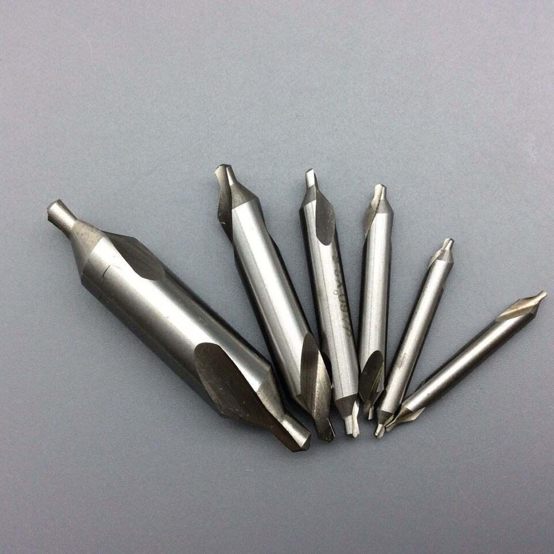 1pcs Combined Countersink Bits 60 Degree Center Drill Set HSS Metal Drilling Power Tools Lathe Milling Cutter Tool