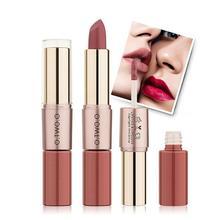 O. TWO. O, 2 в 1, матовая губная помада+ туманообразная поверхность, блеск для губ, сексуальный Batom mate, стойкий Макияж для губ, водостойкий, 12 цветов на выбор