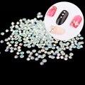 720 pcs New Crystal Pixie Para Transparente Cristal AB Crystal Clear 3D Nail Art Pedrinhas DIY Decoração
