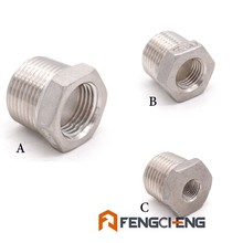 Homebrew Beer NPT Reducer Bushing 304 Stainless Steel Food Grade Brewer Hardware Pump fitting(China)