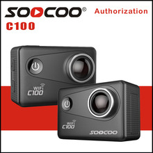 SOOCOO C100 4K Wifi Action Sports Camera Built-in Gyro with Option GPS Extension NTK 96660 20MP Diving Night Mode 5X Zoom DV Cam
