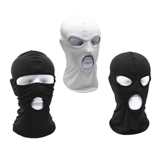Outdoor Cycling Anti-Dust Breathable Mask Tactical Dust-Proof Mask Full Face Airsoft Paintball CS Army Headgear Hats Mask 3style