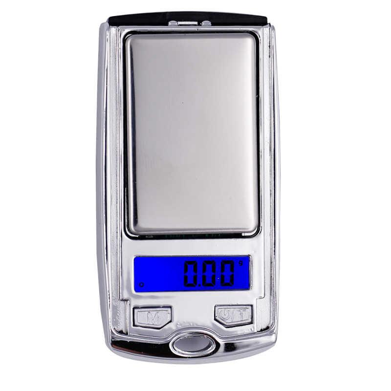 Электронные мини-весы для ювелирных изделий, 200 г x 0,01 г
