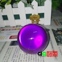Фиолетовый шар, волшебный шар, 3 дюйма 75 мм акриловый мяч для жонглирования контактный мяч