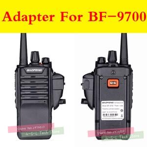 Image 3 - ווקי טוקי אודיו מתאם + אוזניות לbaofeng BF 9700 BF A58 BF UV9R N9 מתאם עבור M ממשק 2Pin אוזניות יציאת אבזרים