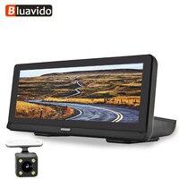 Bluavido 8 IPS 4G Android Car DVR GPS Navigator ADAS Full HD 1080P Dash cam Dual Camera Auto Video Recorder WiFi remote Monitor