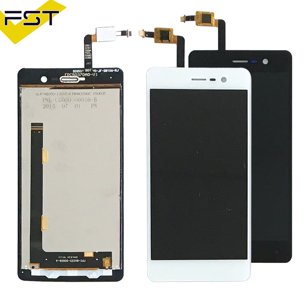 New Stock Black/WhiteFor Blackview Omega Pro LCD display and Touch Screen Digitizer Assembly 100% Tested For Omega Pro LCD