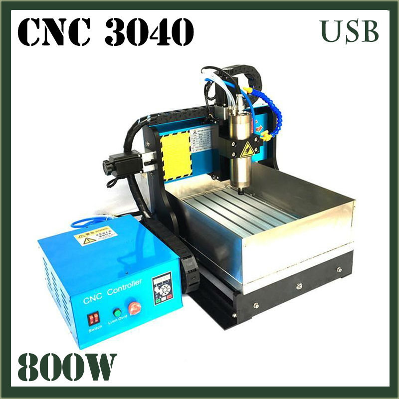 JFT High Quality Wood Bead Making Machine with Water Tank 800W CNC Engraving Machine 3 Axis with USB 2.0 Port 3040  jft 3d mini woodworking machine with usb 2 0 port 600w 3 axis cnc routers with water tank for drilling engraving 3040
