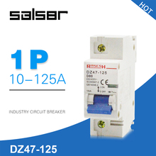DZ47-125 1P Household Atmosphere Switch Short Circuit Protect Type Small-sized Mini Circuit Breaker 80/100/125A стоимость