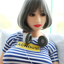 2017 life size real silicone japanese silicone sex doll big ass in Sex products  NSM-165N