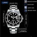 40mm LOREO Luminous Sapphire Glass Automatic Men Diving Watch Business 200M Waterproof Sports Relogio Christmas Gift A26