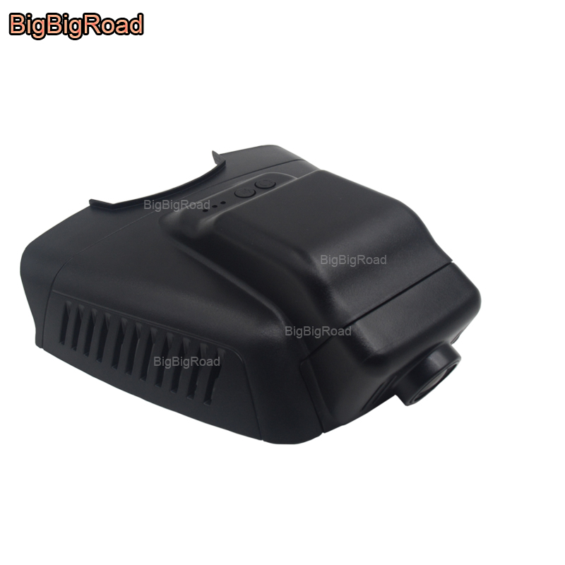 цена BigBigRoad For mercedes benz E series E180 E200 E200L E260 W212 2013 2014 2015 Low Version Car Wifi DVR Video Recorder Dash Cam в интернет-магазинах