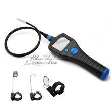 Free shipping Dia 8 5mm 2 7 Endoscope Borescope Inspection Snake Scope Rotate Zoom 6 LEDs