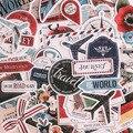 Винтажные наклейки для скрапбукинга, сделай сам, самолет, путешествия, флаг, набор серии, альбом, дневная карта, счастливый планнер, ремесла, ...
