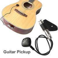 Guitar Pickup Professional Microphone Pickup For Violin Guitar Banjo Mandolin Ukulele Music Musical Instruments Accessories