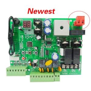 Image 2 - סוג אוניברסלי 12V/24V PCB לוח עבור אוטומטי כפול זרועות נדנדה שער פותחן בקרת לוח לוח חכם בקרת מרכז מערכת