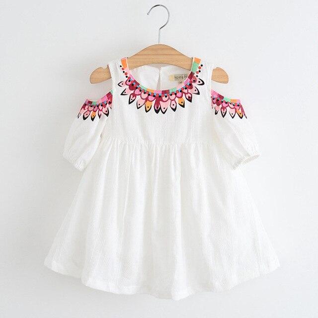 Aliexpress Buy Kids Embroidery Designs Children Frocks Girl