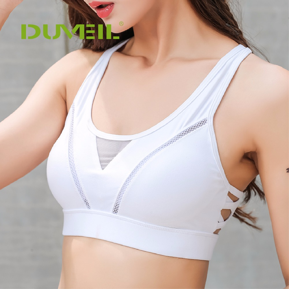 a795f30e4d551 2019 2018 Back Button Women S Professional Absorbing Yoga Bra Sexy ...