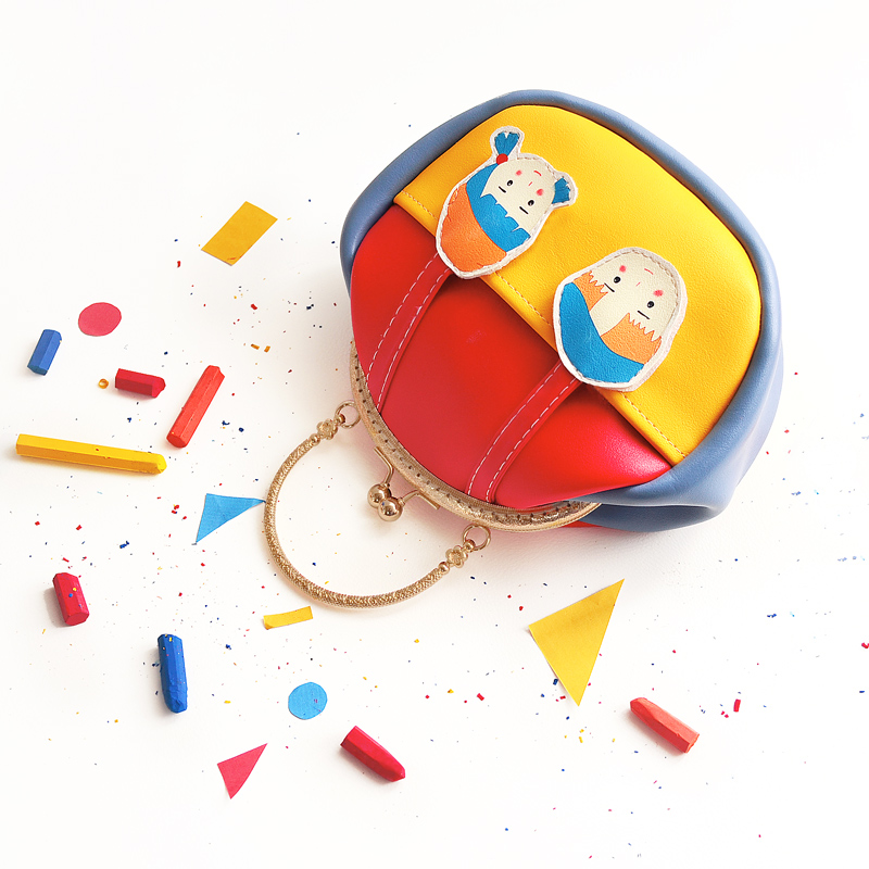 Princess sweet lolita bag Original mail ulzzang Harajuku color handbag lovely girl gold bag chain bag satchel bag women CC094