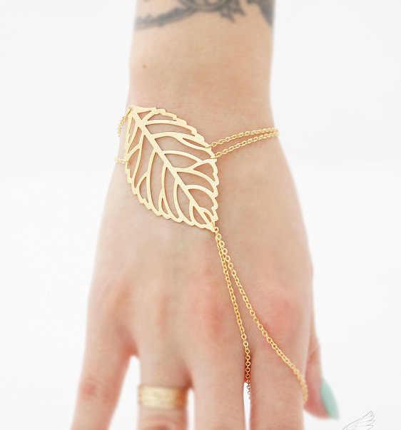 Nouveau mode rétro charme bohème Noble creux feuilles pendentif boucles d'oreilles pour femmes bijoux accessoires en gros cristal boucles d'oreilles