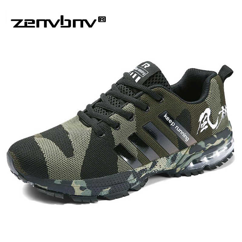 Men Casual Shoes 2019 New Summer Military Trainers Plus Size 47 46 Unisex Sneakers Lace Up Camouflage Men Shoes Male Krasovki