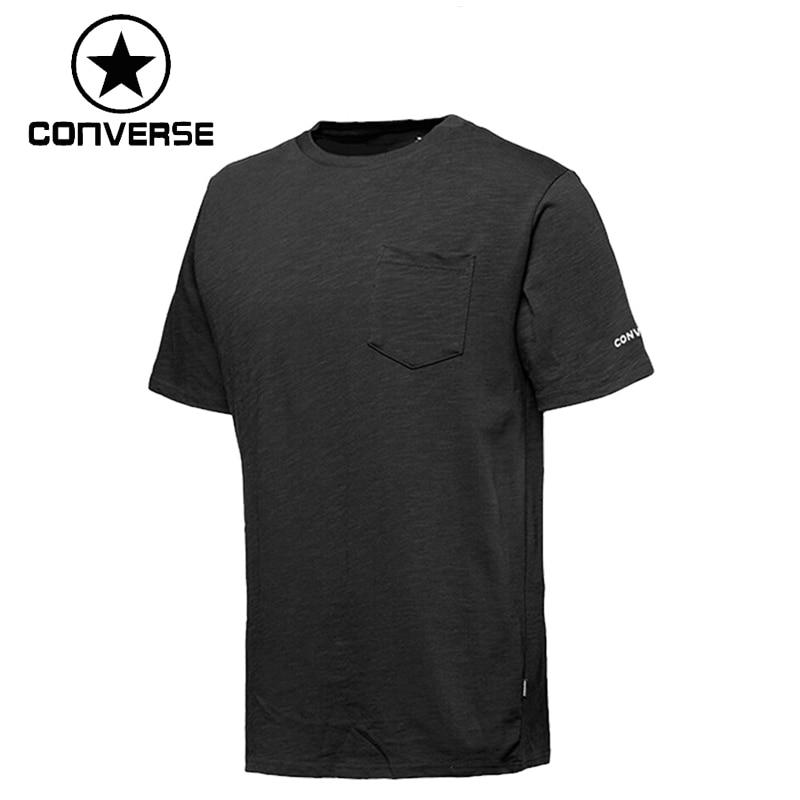 Treu Original Neue Ankunft 2019 Converse Bestickt Wordmark T Männer T-shirts Shirt Kurzarm Sportswear Grade Produkte Nach QualitäT Sport & Unterhaltung