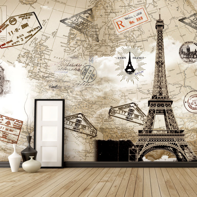 2014 wallpaper roll papel de parede free shipping 3d massively paris 2014 wallpaper roll papel de parede free shipping 3d massively paris iron mural living room wall stickers ride map wallpaper in wallpapers from home gumiabroncs Image collections