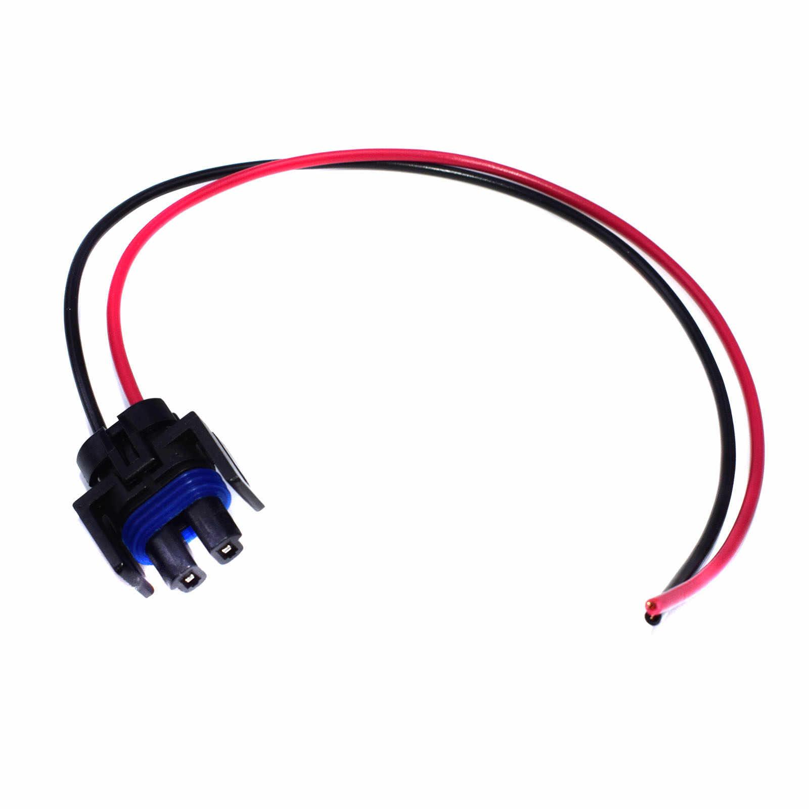 WOLFIGO New Compressor Connector Pigtail Wiring Plug 12101937 PT209 88862230 For Buick Chevrolet C1500 GMC Pontiac