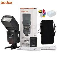 Godox TT520 II Flash TT520II with Build in 433MHz Wireless Signal +Color Filter Kit for Canon Nikon Pentax Olympus DSLR Cameras