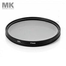 Meking Camera Lens Filter 52mm 58mm 62mm 67mm 72mm 77mm 82mm CPL Circular Polarizer DSLR Accessories for Canon Pentax Nikon Sony