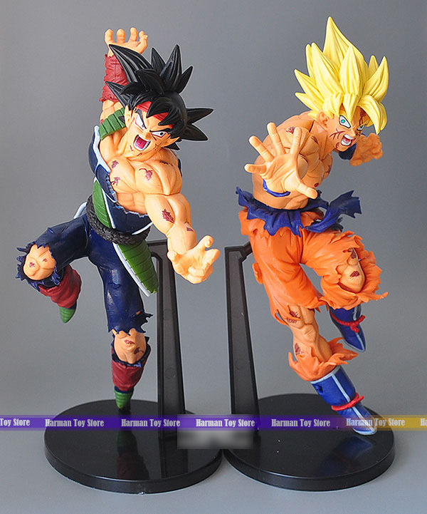 Dragon ball z action figure dragon ball burdock goku pvc - Dragon ball z 21 ...