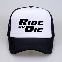 Ride or Die Baseball Cap Letter Print Men Paul Walker Fast Furious Women hat Summer cool hip hop streetwear snapback hats