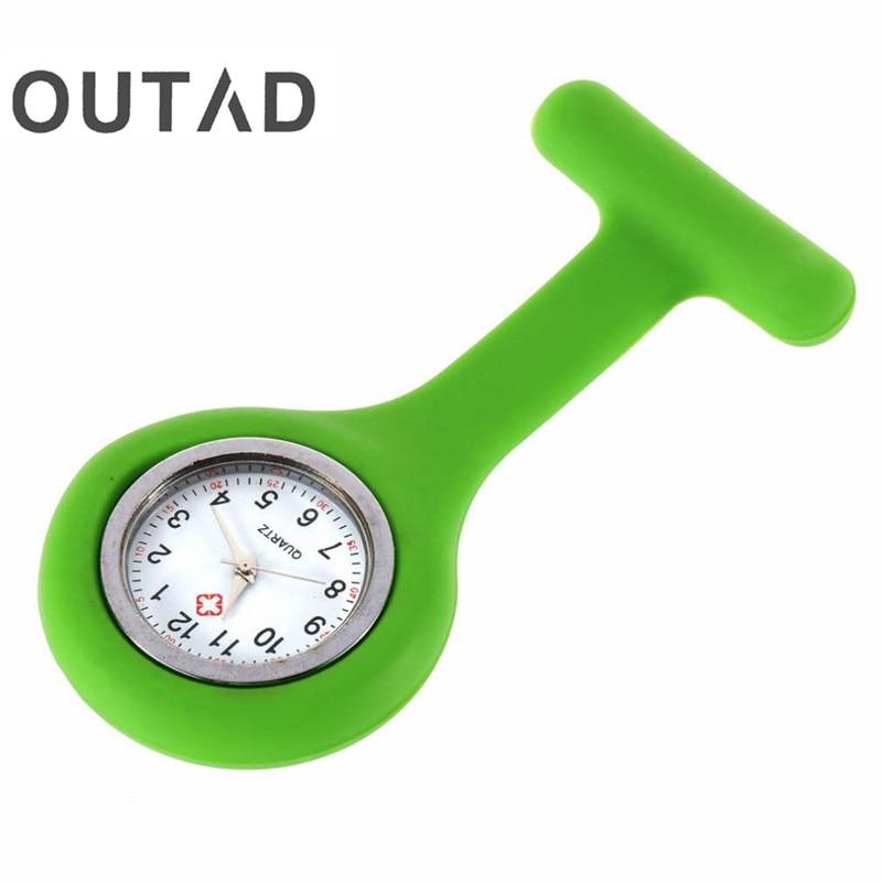 OUTAD Mini портативті силиконы ерлер - Қалта сағаты - фото 2