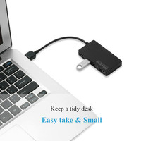 pc עם USB HUB וגם הסלסילה העמוס 3.0 4 USB Power הנייד Port 3.0 כוח עם מפצל המתאם עבור PC USB High Speed 5Gbps HUB מפצל (3)
