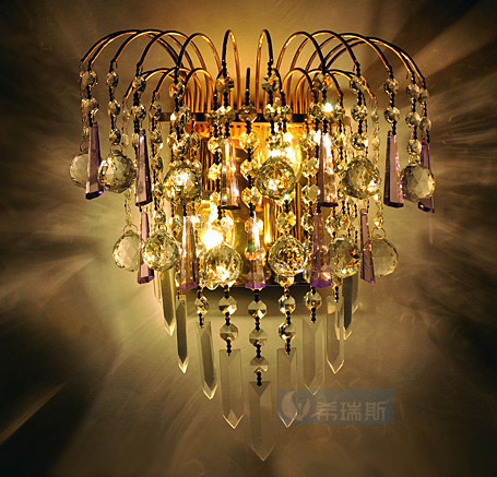 Golden Royal Queen Imperial Crown Luxury Crystal Hanging Bedroom Wall light Free Shipping Modern Romantic Crystals Wall Lamp royal apothic гель для душа imperial vanilla 240ml