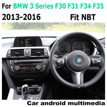 Car Android original style For BMW 3 Series F30 F31 F34  F35 2013-2016 NBT GPS Navigation radio stereo multimedia player screen