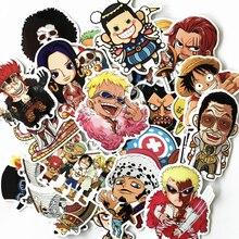 One Piece Printed Stickers 61 pcs Set