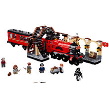 Block 16055 Harry Magic Moive Hogwarts Express Train 897PC Blocks Bricks Compatible With The 75955 Building Model Gift Assembled(China)