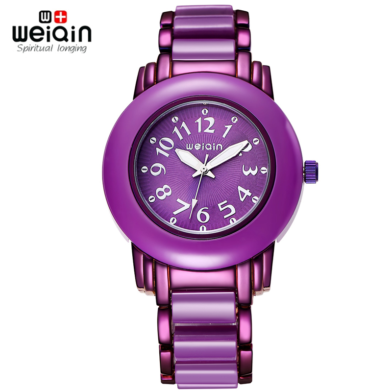 Weiqin women dress watches brand analog quartz watch ladies fashion clock hours girls wristwatch for Watches brands for girl