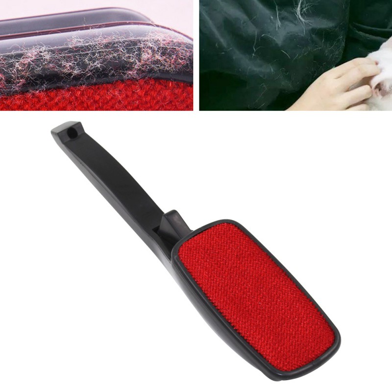 Magic Pet Brush Lint Brush Pet Hair Remover Clothes Carpet Sofa Dust Brush Pet Hair Fabric Remover Static 360-degree Rotating