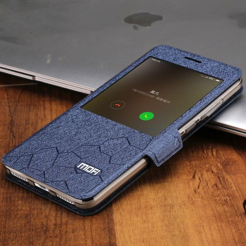 Image 4 - xiaomi redmi note 4x cover case leather flip window luxury snapdragon 3gb 32GB fundas silicone smart xiaomi redmi note 4x cover-in Flip Cases from Cellphones & Telecommunications