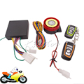 12v 125dB Motorcycle Scooter Alarm Remote Control Security Anti-theft System Bike Theft Protection Engine Start for Honda Suzuki