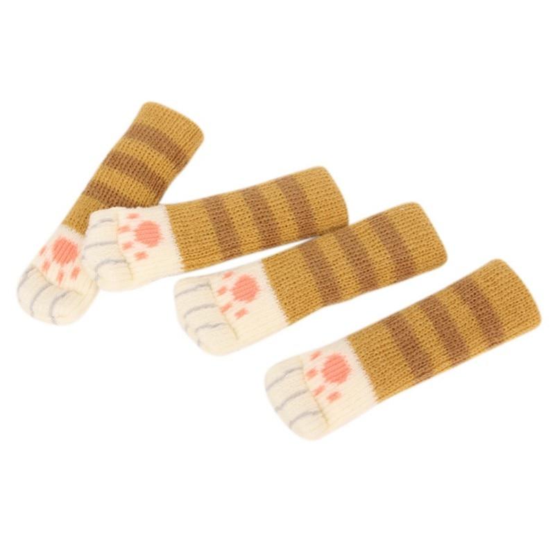 4PCS Pet Scratching-stone Japanese Style Table Leg Non-slip  3