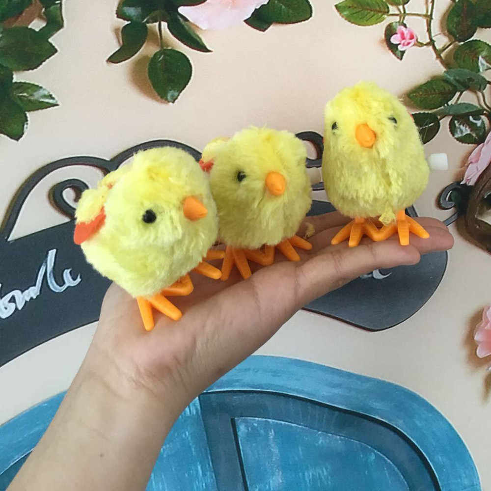 Детские заводные игрушки ветер прыжка игрушки цыпленок Рождественские носки наполнителя животные игрушки Интересные образовательные игрушки для малышей, детей игрушки 5,29