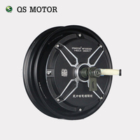 QSMOTOR 10inch 3000w 205 V3 dc brushless scooter hub motor 48v to 96v in High power quality with CE