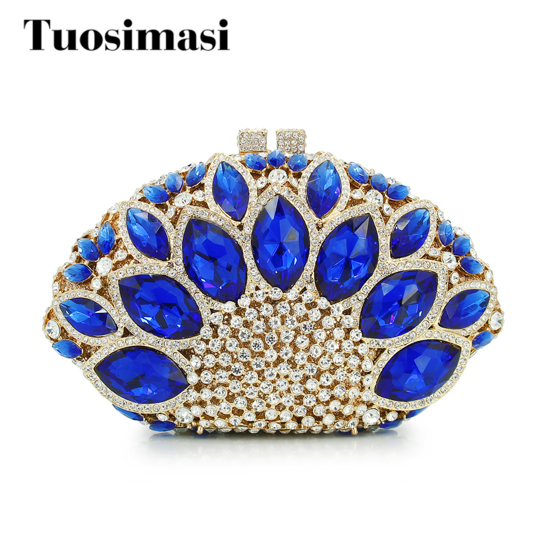 2017 New Design Peacock Shape Evening Bag Green Big Stone Crystal Luxury Clutch Bag Diamond Ladies Handbags Party Purse(8753A-G) цена