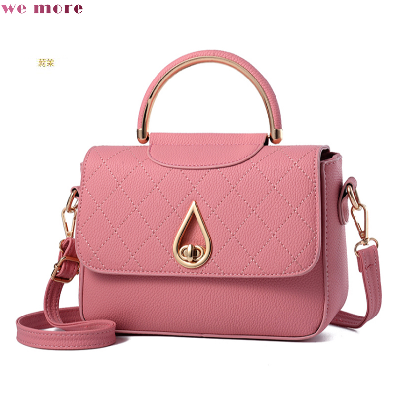 We MORE Women Flap Small Chains Bags Lady High Quality Tassel Messenger Bags Female Handbag Fresh Shoulder Bag Soft Bag Tote Sac