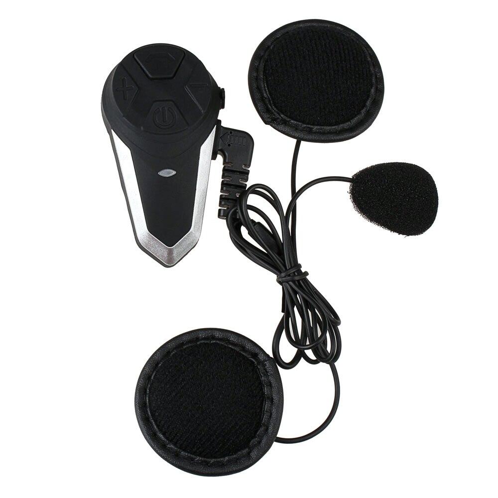 Fodsports BT-S3 мотоциклетный шлем домофон Мото шлем Bluetooth гарнитуры Водонепроницаемый Intercomunicador BT переговорные FM