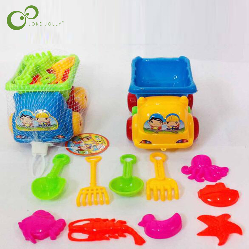 5PCS Plastic Sandbox Toy Small Horse Scene Mold Crafts Toy Garden Decor